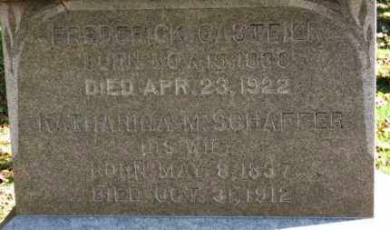 GASTEIER, KATHARINA - Erie County, Ohio | KATHARINA GASTEIER - Ohio Gravestone Photos