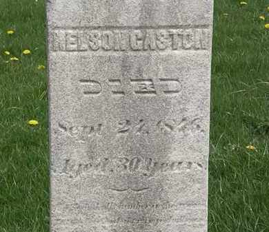 GASTON, NELSON - Erie County, Ohio | NELSON GASTON - Ohio Gravestone Photos