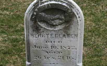 GEASEN, HENRY F. - Erie County, Ohio | HENRY F. GEASEN - Ohio Gravestone Photos