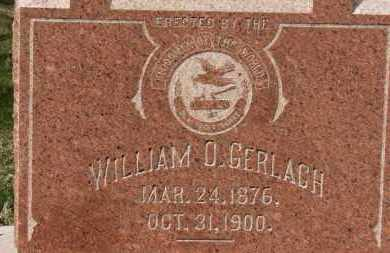 GERLACH, WILLIAM O. - Erie County, Ohio | WILLIAM O. GERLACH - Ohio Gravestone Photos