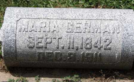 GERMAN, MARIA - Erie County, Ohio | MARIA GERMAN - Ohio Gravestone Photos