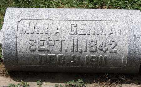 GERMAN, MARIA - Erie County, Ohio | MARIA GERMAN - Ohio Gravestone Photos