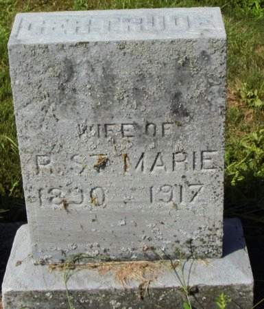 GERTHUOE, UNKNOWN (MARIE) - Erie County, Ohio | UNKNOWN (MARIE) GERTHUOE - Ohio Gravestone Photos