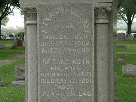 GILCHRIST, ALEXANDER - Erie County, Ohio | ALEXANDER GILCHRIST - Ohio Gravestone Photos
