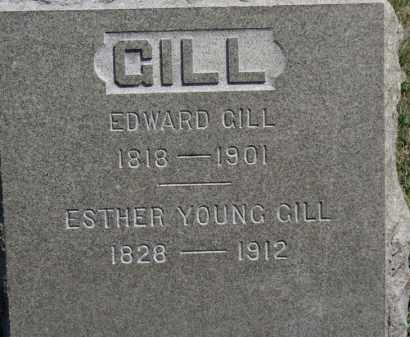 YOUNG GILL, ESTHER - Erie County, Ohio | ESTHER YOUNG GILL - Ohio Gravestone Photos