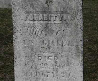 GILLET, CHARITY - Erie County, Ohio | CHARITY GILLET - Ohio Gravestone Photos