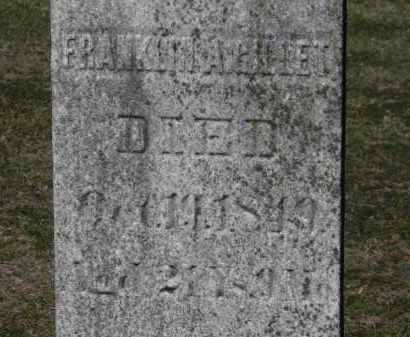 GILLET, FRANKLIN A. - Erie County, Ohio   FRANKLIN A. GILLET - Ohio Gravestone Photos