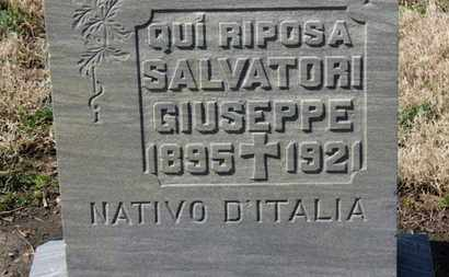 GIUSEPPE, SALVATORI - Erie County, Ohio | SALVATORI GIUSEPPE - Ohio Gravestone Photos