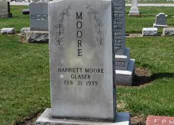 MOORE GLASER, HARRIETT - Erie County, Ohio | HARRIETT MOORE GLASER - Ohio Gravestone Photos