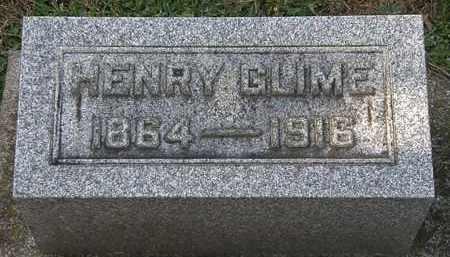 GLIME, HENRY - Erie County, Ohio | HENRY GLIME - Ohio Gravestone Photos