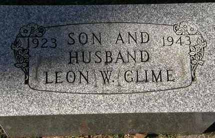 GLIME, LEON W. - Erie County, Ohio | LEON W. GLIME - Ohio Gravestone Photos