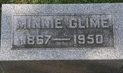 GLIME, MINNIE - Erie County, Ohio | MINNIE GLIME - Ohio Gravestone Photos