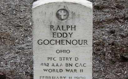 GOCHENOUR, RALPH EDDY - Erie County, Ohio | RALPH EDDY GOCHENOUR - Ohio Gravestone Photos