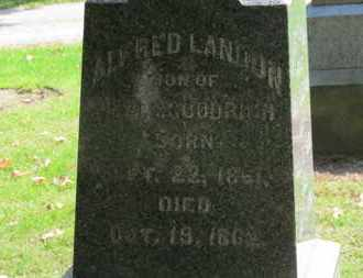 GOODRICH, ALFRED LANDON - Erie County, Ohio | ALFRED LANDON GOODRICH - Ohio Gravestone Photos