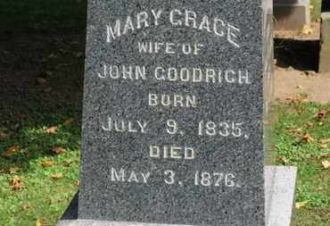 GOODRICH, MARY GRACE - Erie County, Ohio | MARY GRACE GOODRICH - Ohio Gravestone Photos