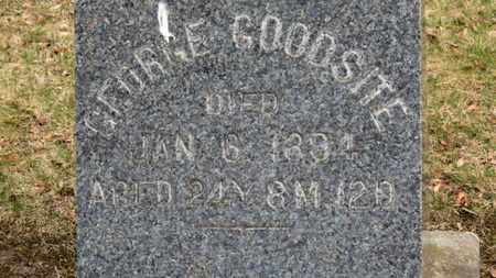 GOODSITE, GEORGE - Erie County, Ohio | GEORGE GOODSITE - Ohio Gravestone Photos