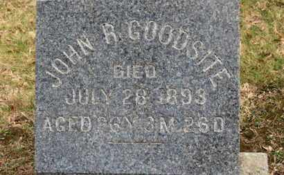GOODSITE, JOHN R. - Erie County, Ohio | JOHN R. GOODSITE - Ohio Gravestone Photos