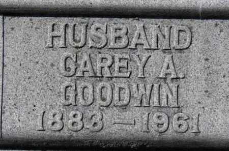 GOODWIN, CAREY A. - Erie County, Ohio | CAREY A. GOODWIN - Ohio Gravestone Photos