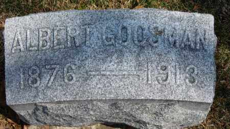 GOOSMAN, ALBERT - Erie County, Ohio | ALBERT GOOSMAN - Ohio Gravestone Photos