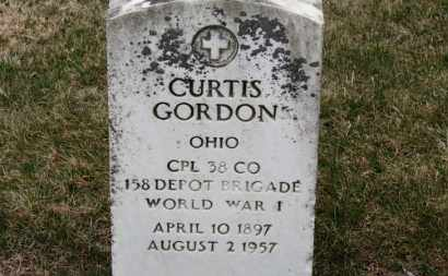 GORDON, CURTIS - Erie County, Ohio | CURTIS GORDON - Ohio Gravestone Photos