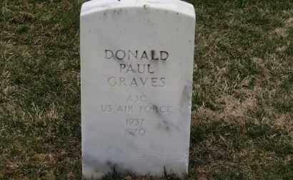 GRAVES, DONALD PAUL - Erie County, Ohio   DONALD PAUL GRAVES - Ohio Gravestone Photos