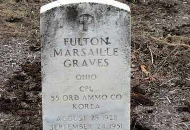 GRAVES, FULTON MARSAILLE - Erie County, Ohio | FULTON MARSAILLE GRAVES - Ohio Gravestone Photos