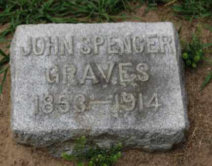 GRAVES, JOHN SPENCER - Erie County, Ohio | JOHN SPENCER GRAVES - Ohio Gravestone Photos