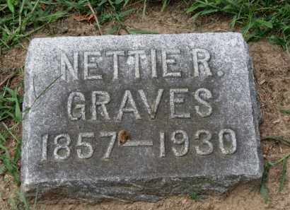 GRAVES, NETTIE R. - Erie County, Ohio | NETTIE R. GRAVES - Ohio Gravestone Photos