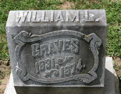 GRAVES, WILLIAM L. - Erie County, Ohio | WILLIAM L. GRAVES - Ohio Gravestone Photos