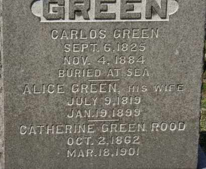 GREEN, ALICE - Erie County, Ohio | ALICE GREEN - Ohio Gravestone Photos