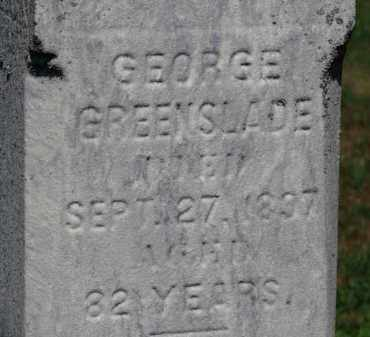 GREENSLADE, GEORGE - Erie County, Ohio | GEORGE GREENSLADE - Ohio Gravestone Photos