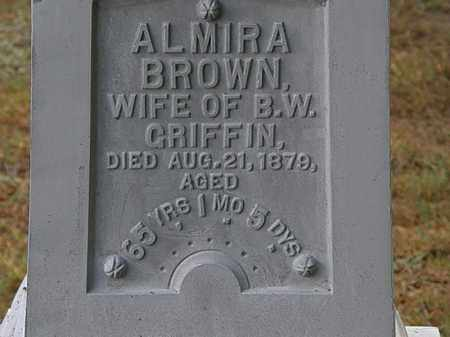 BROWN GRIFFIN, ALMIRA - Erie County, Ohio | ALMIRA BROWN GRIFFIN - Ohio Gravestone Photos