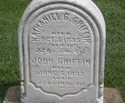 GRIFFIN, NATHANIEL G. - Erie County, Ohio | NATHANIEL G. GRIFFIN - Ohio Gravestone Photos