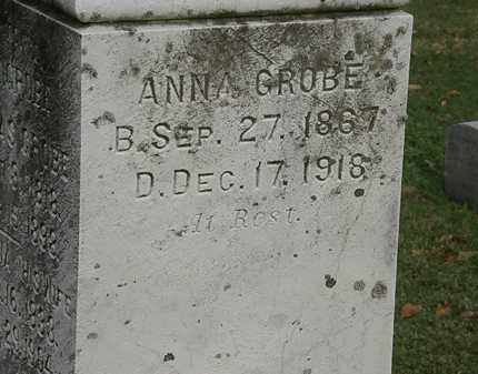 GROBE, ANNA - Erie County, Ohio | ANNA GROBE - Ohio Gravestone Photos