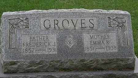 GROVES, FREDERICK J. - Erie County, Ohio | FREDERICK J. GROVES - Ohio Gravestone Photos