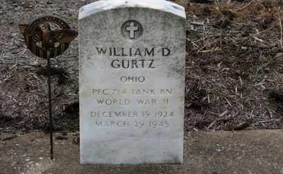 GURTZ, WILLIAM D. - Erie County, Ohio | WILLIAM D. GURTZ - Ohio Gravestone Photos