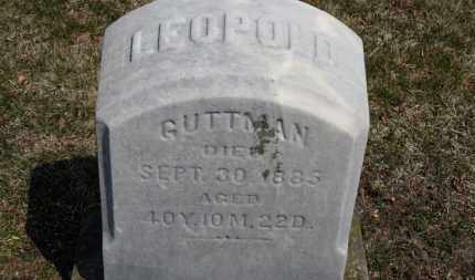 GUTTMAN, LEOPOLD - Erie County, Ohio | LEOPOLD GUTTMAN - Ohio Gravestone Photos