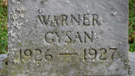 GYSAM, WARNER - Erie County, Ohio | WARNER GYSAM - Ohio Gravestone Photos