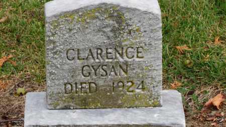 GYSAN, CLARENCE - Erie County, Ohio | CLARENCE GYSAN - Ohio Gravestone Photos