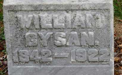 GYSAN, WILLIAM - Erie County, Ohio | WILLIAM GYSAN - Ohio Gravestone Photos