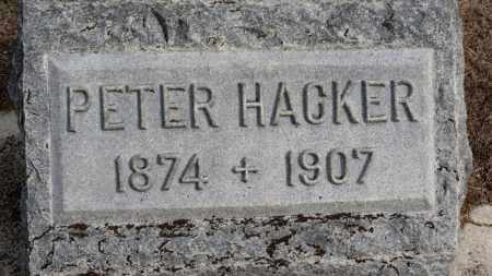 HACKER, PETER - Erie County, Ohio | PETER HACKER - Ohio Gravestone Photos