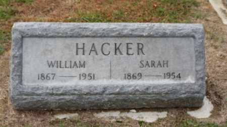 HACKER, WILLIAM - Erie County, Ohio | WILLIAM HACKER - Ohio Gravestone Photos