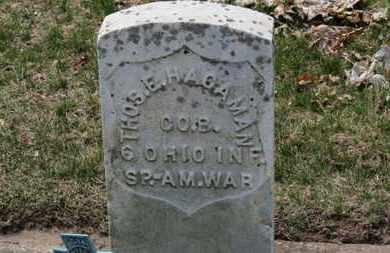 HAGAMAN, THOS. E. - Erie County, Ohio | THOS. E. HAGAMAN - Ohio Gravestone Photos