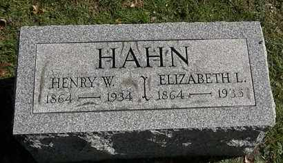 HAHN, HENRY W. - Erie County, Ohio | HENRY W. HAHN - Ohio Gravestone Photos