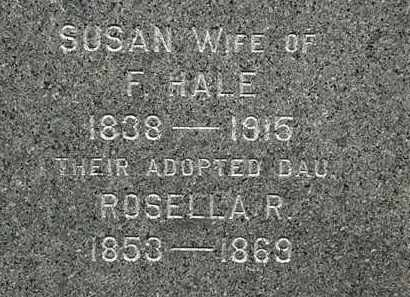 HALE, SUSAN - Erie County, Ohio | SUSAN HALE - Ohio Gravestone Photos