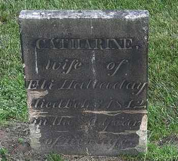 HALLADAY, CATHARINE - Erie County, Ohio | CATHARINE HALLADAY - Ohio Gravestone Photos