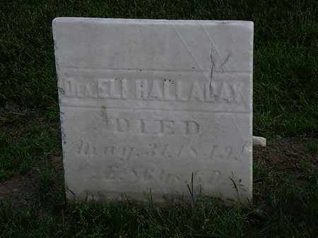 HALLADAY, ELI - Erie County, Ohio | ELI HALLADAY - Ohio Gravestone Photos