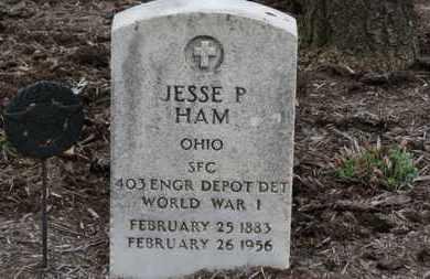 HAM, JESSE P. - Erie County, Ohio | JESSE P. HAM - Ohio Gravestone Photos