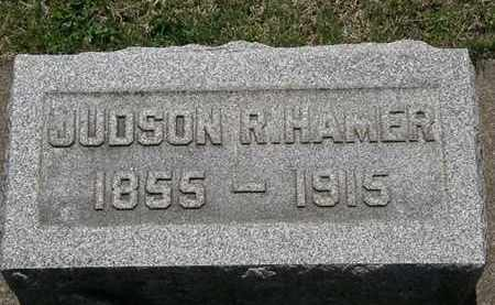 HAMER, JUDSON R. - Erie County, Ohio | JUDSON R. HAMER - Ohio Gravestone Photos