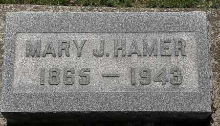HAMER, MARY J. - Erie County, Ohio | MARY J. HAMER - Ohio Gravestone Photos